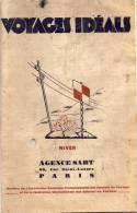 Catalogue  De L´ Agence De Voyages  SAHT / PARIS  - VOYAGES IDEALS - Saison D´ Hiver 1932/33 - Voyages