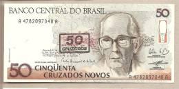Brasile - Banconota Non Circolata Da 50 Cruzeiros P-223 - 1991 - Brazil