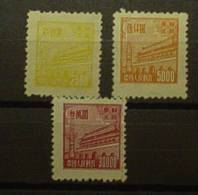 Chine Du Nord Est N° 129 - 130 - 133 - Nuovi