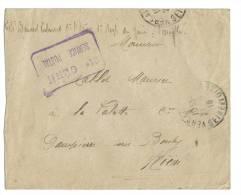 Lettre F.M 21 Eme Genie Postal Versailles Pour Dampierre Sous Bouhy - Vieux Papiers