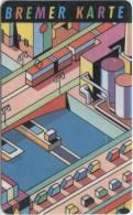 Bremer Karte - Tramticket,Straßenbahnfah Rkarte - Fabrik - Andere Sammlungen