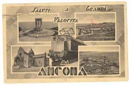 $3-2455 MARCHE ANCONA GRANDE VELOCITA' TRENO 1942 VIAGGIATA - Ancona