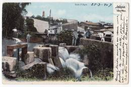 AMERICA MEXICO JALAPA WALK THE DOCK OLD POSTCARD 1907. - Mexico