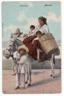 AMERICA MEXICO INDIAN FAMILY LATAPI&BERT Nr. 6975 OLD POSTCARD - Mexico