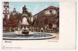 AMERICA MEXICO STATUE OF CORREGIDORA LATAPI&BERT Nr. 6354 OLD POSTCARD - Mexico