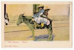 AMERICA MEXICO TYPES TOREANOS FELIX MIRET Nr. 8 OLD POSTCARD - Mexico