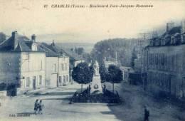 89 -CHABLIS- Boulevard Jean-Jacques Rousseau-animée - Chablis