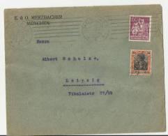 =DE  BRIEF 1921  NACH LIEPZIG - Germania