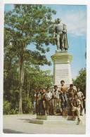 AMERICA VENEZUELA BARCELONA MONUMENT TO JOSE ANTONIO ANZOATEGUI OLD POSTCARD - Venezuela
