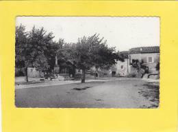 CPA - 26 - SALLES Sous BOIS -  La Place - Fontaine - Carte Rare - Francia