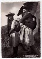 AMERICA VENEZUELA WOMEN AND CHILDREN IN THE VENEZUELAN ANDES Nr. 16 BIG POSTCARD 1954. - Venezuela