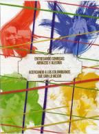 Lote PEP404, Colombia, Dia Mundial Del Correo, Sonrisas,  Postal, Double Postcard, Unusual Stamp No Commercial Value - Colombia
