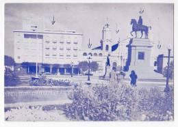 AMERICA URUGUAY SALTO ARTIGAS SQUARE FOLDED CORNER OLD POSTCARD - Uruguay