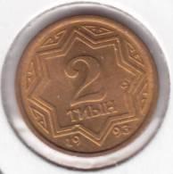 @Y@  Kazakhstan   2 Tenge  1993  Unc     (item 2014) - Kazakhstan