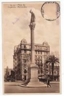 AMERICA URUGUAY MONTEVIDEO CAGANCHA SQUARE THE MONUMENT Nr. 811 OLD POSTCARD 1930. - Uruguay