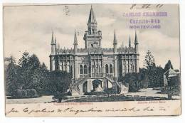 AMERICA URUGUAY MONTEVIDEO ARGENTINA LEGATION OLD POSTCARD 1911. - Uruguay