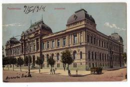 AMERICA URUGUAY MONTEVIDEO THE UNIVERSITY OLD POSTCARD 1914. - Uruguay
