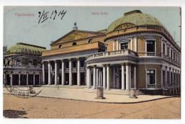 AMERICA URUGUAY MONTEVIDEO THE SOLIS THEATRE OLD POSTCARD 1914. - Uruguay