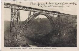 BERGISCHEN LAND, Kaiser Wilheim Brücke - Bergisch Gladbach