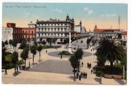 AMERICA URUGUAY MONTEVIDEO LIBERTY SQUARE Nr. 610 OLD POSTCARD - Uruguay
