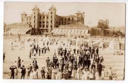 AMERICA URUGUAY MONTEVIDEO BEACH RAMIRES OLD POSTCARD - Uruguay