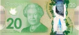 Canada 20 Dollars 2012. UNC Polymer - Canada