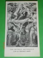 B.Vergine Con S.Pietro,S.Benedetto - Anno 1955 Ingresso Don Cipriano Chiesa S.MICHELE In BOSCO - BOLOGNA - Santino - Images Religieuses