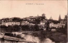 CPA - LE DORAT 87 Haute Vienne -  Vue Générale - Le Dorat