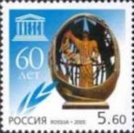 Russia 2005 60th Anniversary Of UNESKO United Nation Commuity Organization Architecture Momument UNESCO MNH Scott 6928 - UNESCO