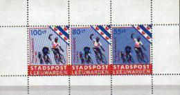 NEDERLAND 1985 LOCAL STADSPOST LEEUWARDEN SHEETLET CYCLING BICYCLE FIETS - Radsport
