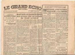 2° GUERRE MONDIALE :  LA PRESSE - Newspapers
