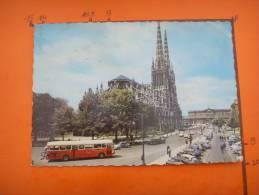 11) Bordeaux :cathedrale Saint Andre :au Fond Hotel De Ville:voitures: Ds,2 Cv,4 Cv...beau Car  : Etat : Dentelee - Bordeaux