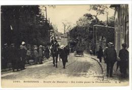Carte Postale Ancienne Le Plessis Robinson - Route De Malabry. En Route Pour La Promenade - Le Plessis Robinson