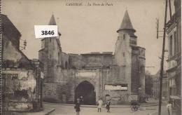 CAMBRAI   LA PORTE DE PARIS - Cambrai