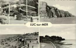 CPSM  LUC SUR MER       Un Coin De La Ville En Multivues - Luc Sur Mer