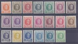 Belgie Postfris Frais Poste YT 190-210 - Belgien