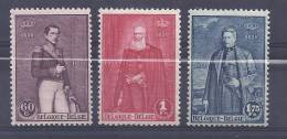 Belgie Postfris Frais Poste YT 302-304 - Belgium
