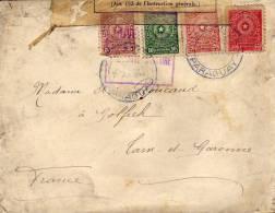 Militaria - Paraguay - 1ere Guerre - L´autorité Militaire(paraguay) - Ministère Guerre Controle (marseille) Cire (EB) - Paraguay