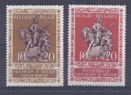 Belgie Postfris Frais Poste YT 613-614 - Bélgica