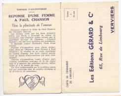 Publicité Pour Les Editions Gérard & Cie Verviers 1951 - Advertising