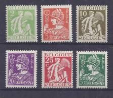 Belgie Postfris Frais Poste YT 335-340 - Belgien