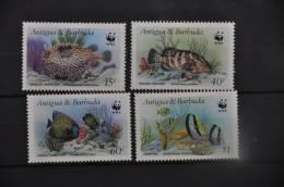 I - 16 ++ ANTIGUA BARBUDA FISH VISSEN POISSON  ++ POSTFRIS MNH - Antigua En Barbuda (1981-...)