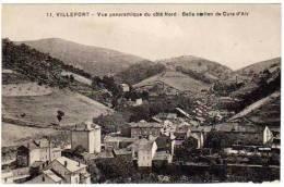 Villefort, Vue Panoramique Du Côté Nord, Belle Station De Cure D'air - Villefort