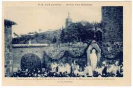 N.D. D'Ay, Arrivée D'un Pèlerinage ... - France