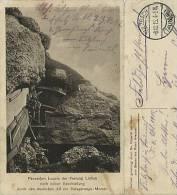 AK Lüttich Liège Panzerfort Loucin Nach Beschießung FP 1915 #01 - War 1914-18