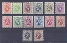 Belgie Postfris Frais Poste YT 276-288A - Belgien