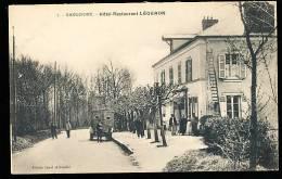 78 GARGENVILLE / Hôtel Restaurant Légeron / - Gargenville