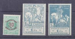 Belgie Postfris Frais Poste YT 237-239 - Belgien