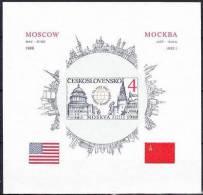 ** Tchécoslovaquie Mi Bl.82B (Yv BF 78A), (MNH) - Hojas Bloque