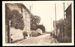 78 GARGENVILLE / Rue De La Poste / - Gargenville